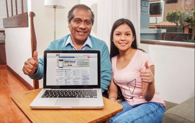Afiliados ONP pueden solicitar pensión en forma virtual
