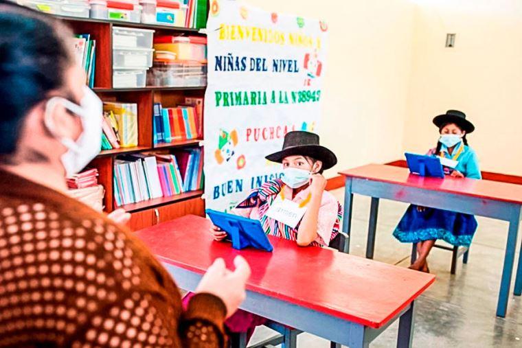 Minedu trabajará con regiones las condiciones para ir a las aulas