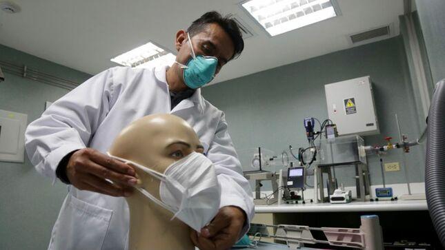 INS implementa laboratorio de evaluación de la protección de mascarillas