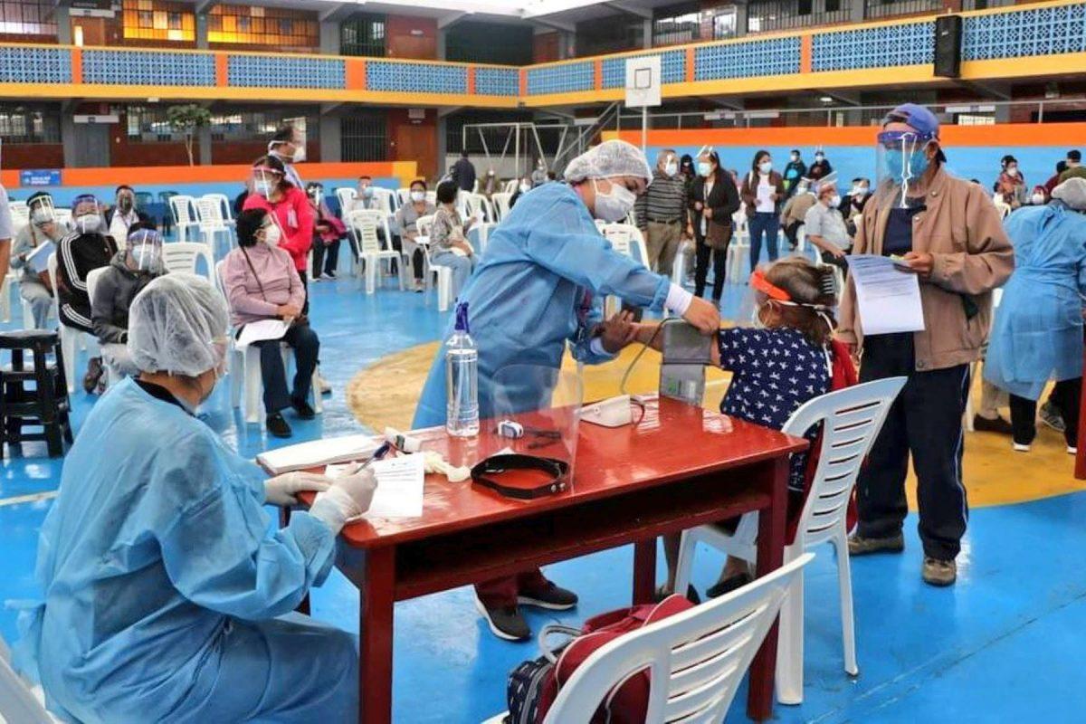 Más centros de atención en Lima y Callaodurante quinta vacunatón