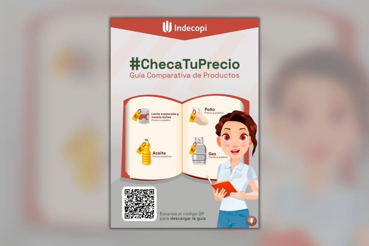 Indecopi lanza Guía comparativa de productos de la canasta básica