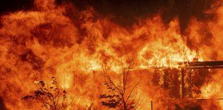 Incendios forestales del norte de California aumentan 12 kilómetros en un día