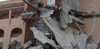 Al menos dos personas desaparecidas por derrumbe de edificio en Peñíscola
