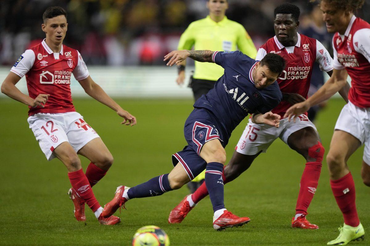 Messi debutó con triunfo en PSG ante Reims