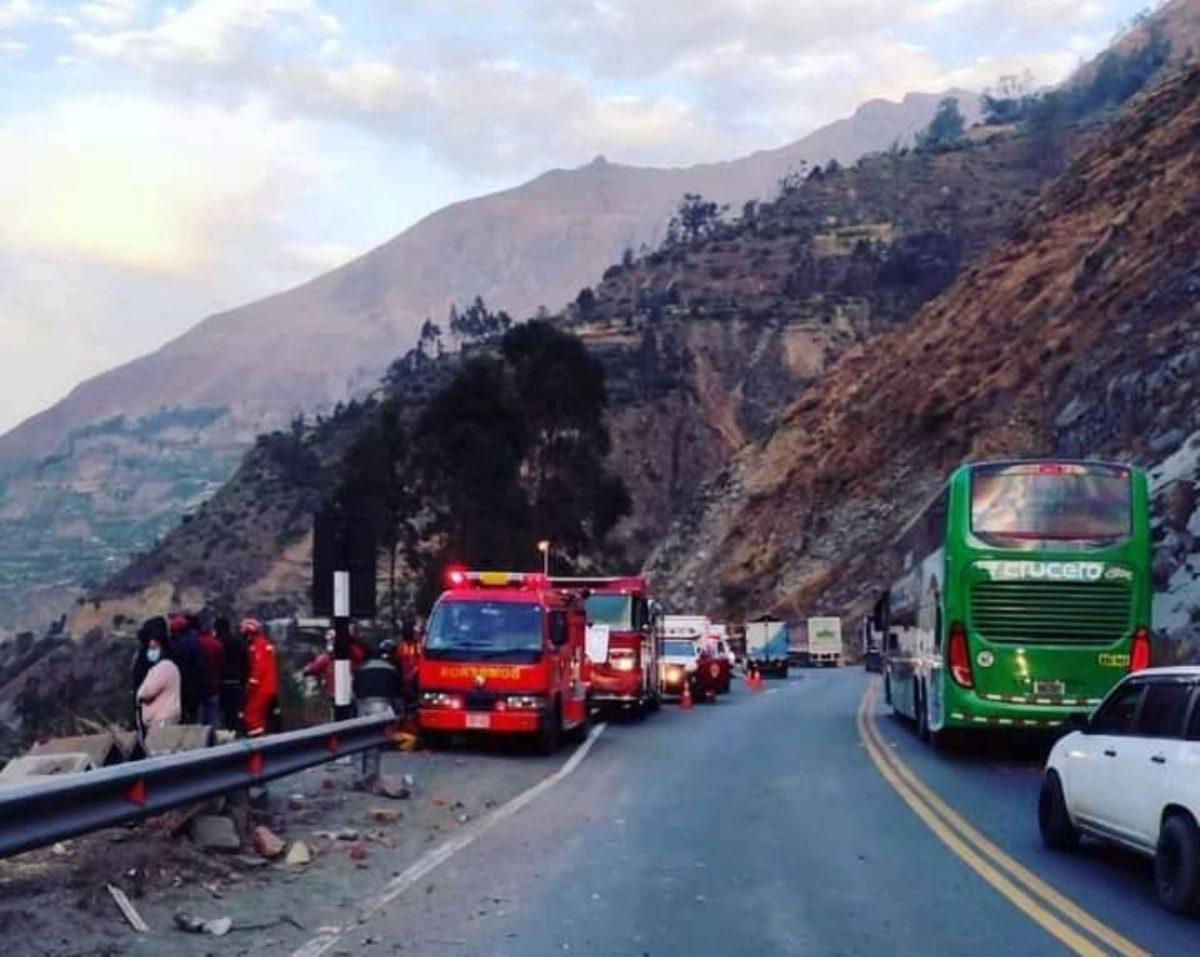 Accidente en Carretera Central dejó 34 muertos y 21 heridos