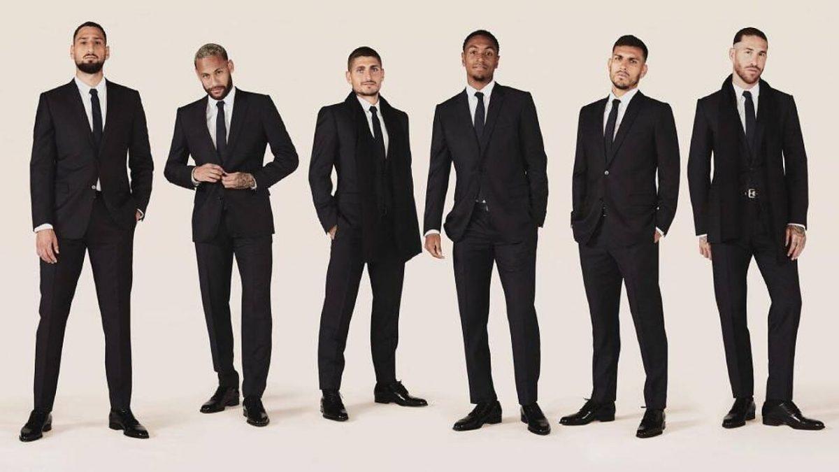 Christian Dior vestirá a jugadores del PSG