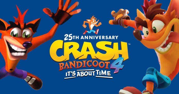 Crash Bandicoot celebra su 25° aniversario con un video especial