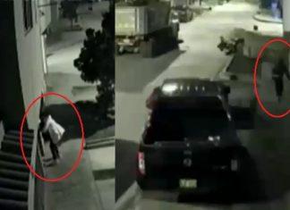 Le roba camioneta y al fugarse no supo manejarla
