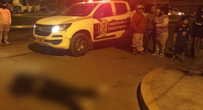 En balacera dos personas fueron asesinadas en el Callao