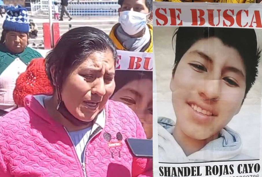 Joven desaparecido fue encontrado sin vida