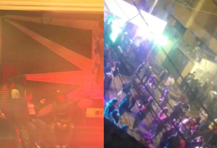 Infractores no fueron multados por fiesta en la calle