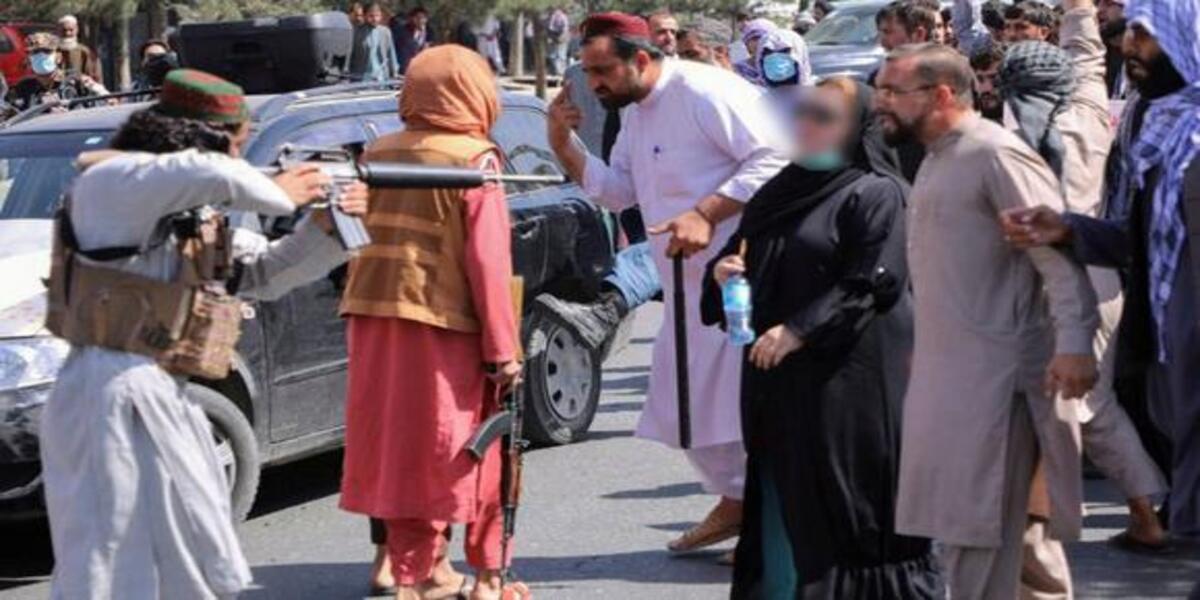 """Afganistán: """"Seguiré protestando hasta que el Talibán me mate"""""""