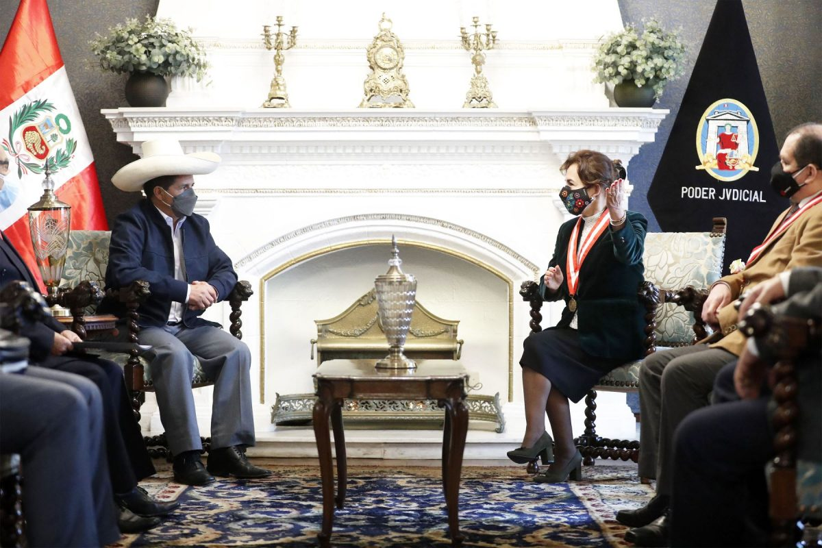 Ejecutivo se reunió con la titular del Poder Judicial