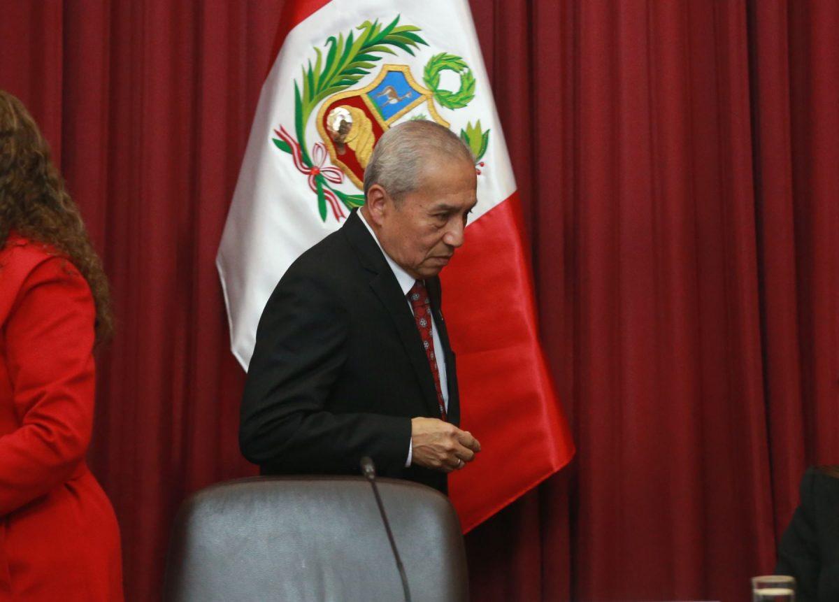 Pedro Chávarry fue condenado por destitución de fiscales