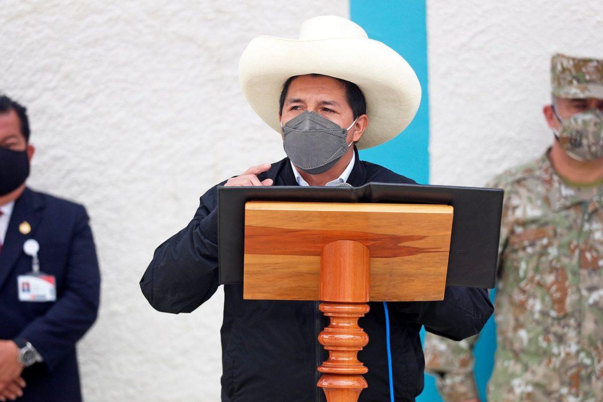 Pedro Castillo 'No somos terroristas'
