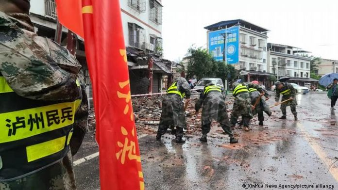 Terremoto en China de magnitud 6.0 deja tres muertos