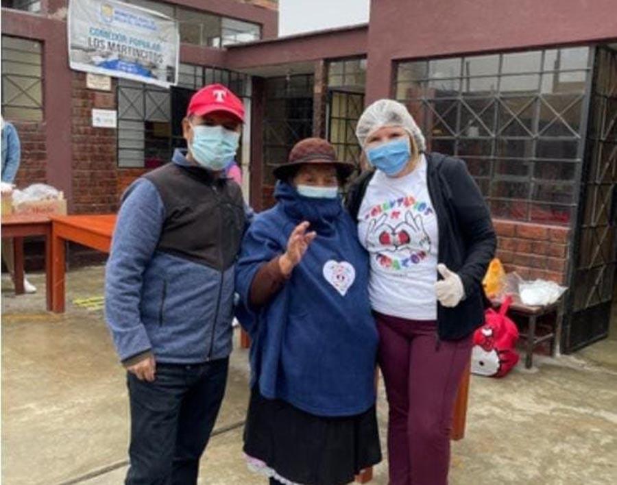 Corazón Perú brinda ayuda a abuelitos en extrema pobreza