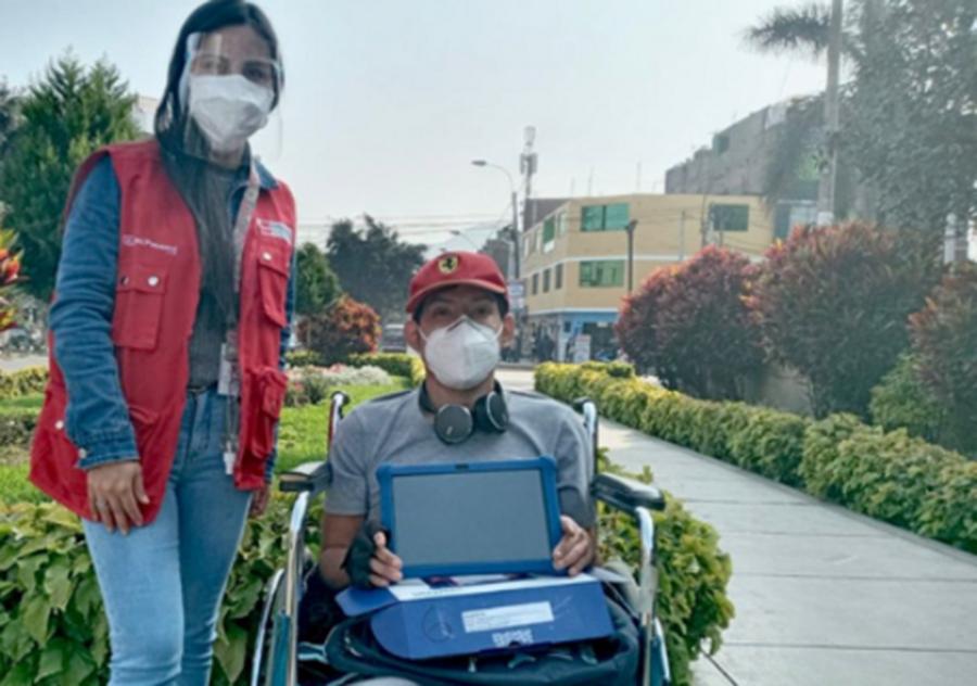 MTPE inicia entrega de 1810 tablets a jóvenes para capacitación laboral