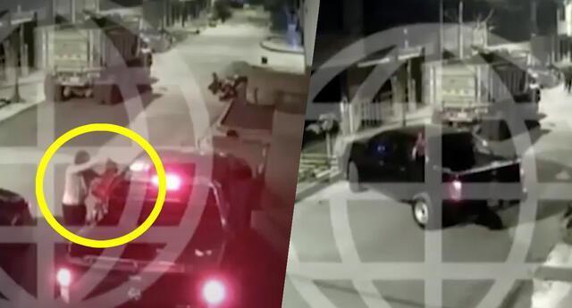 Delincuentes intentan robar camioneta pero lo abandonan por no saber manejarla