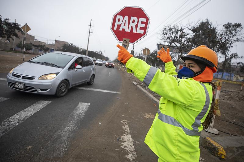 Extenderán plan de desvíos por obras del Metropolitano en Lima Norte
