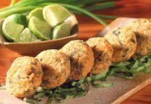 Croquetas de arroz y espinacas