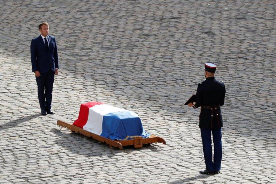Francia: Macron despidió a Jean-Paul Belmondo con un homenaje