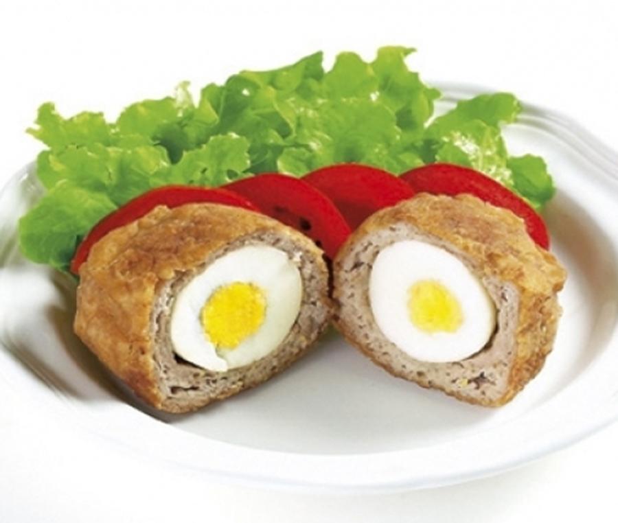 Huevos encamisados