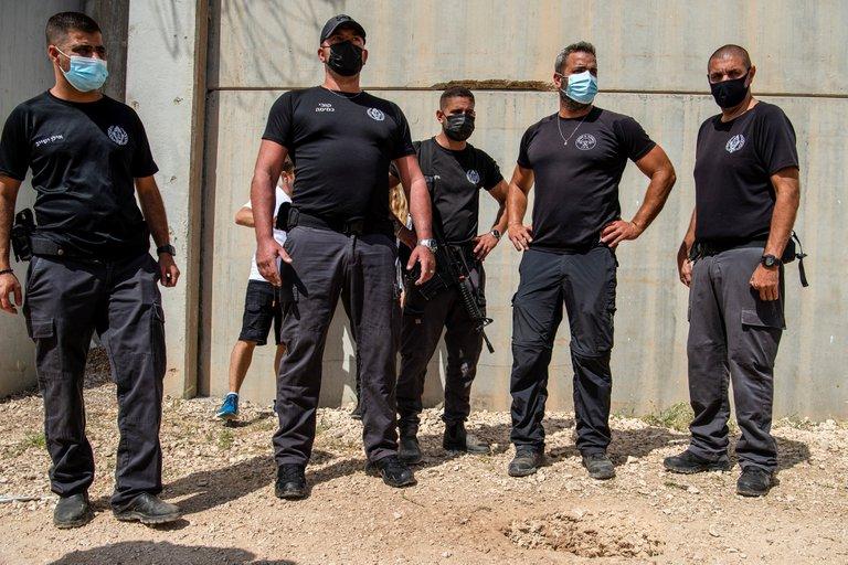 Terroristas palestinos escapan de una prisión de alta seguridad