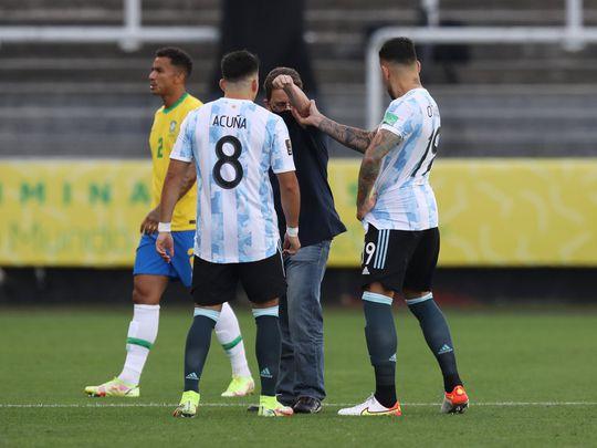 El partido Argentina vs. Brasil quedó suspendido a los 6 minutos de juego