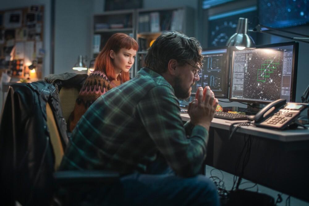 """Netflix lanza tráiler de """"No miren arriba"""", con Leonardo DiCaprio y Jennifer Lawrence"""