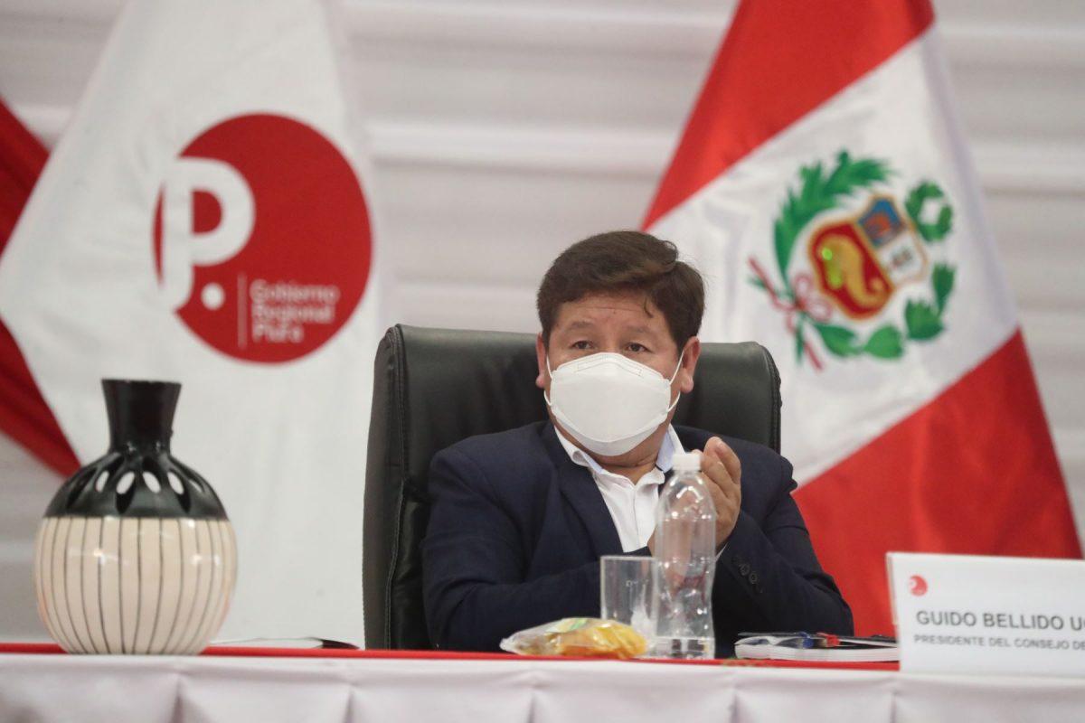 Congresista de Renovación Popular presenta moción para que Guido Bellido explique visita de Tito Rojas a la PCM