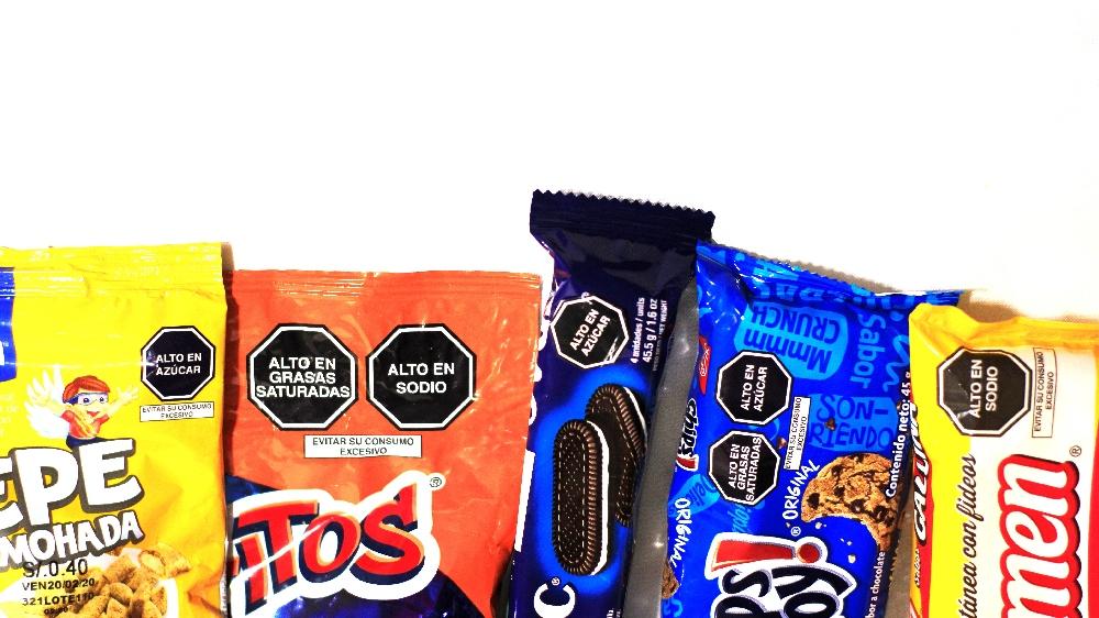 Octógonos: Más productos llevarán advertencia desde la próxima semana