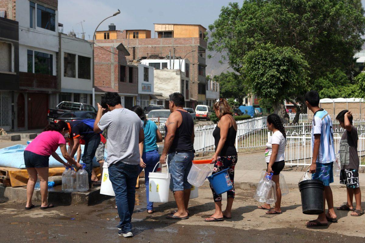 Sedapal anunció que este domingo se reestablecerá el servicio de agua potable en San Juan de Lurigancho