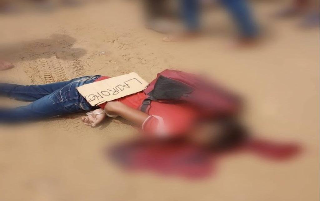 A balazos asesinan a jovencitos que robaron comida en municipio