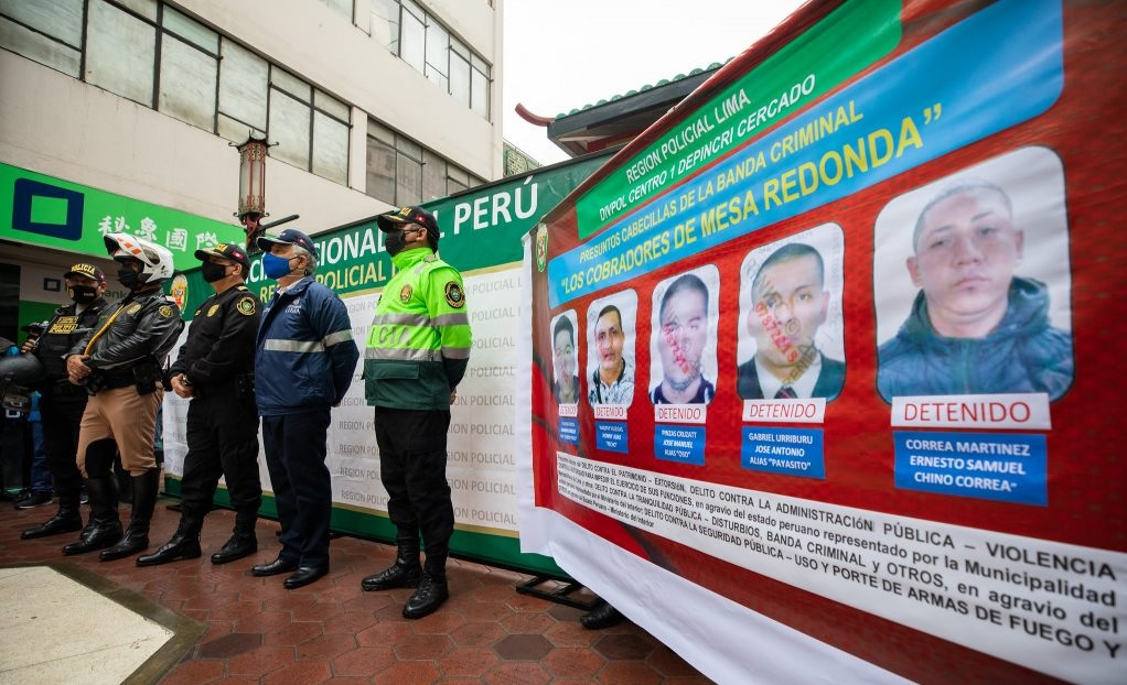 Extorsionadores de Mesa Redonda reciben prisión preventiva