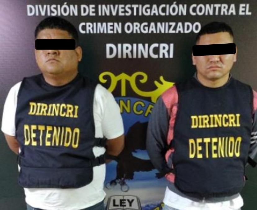 """""""Sanguinarios"""" con armas fueron desarticulados por agentes policiales"""