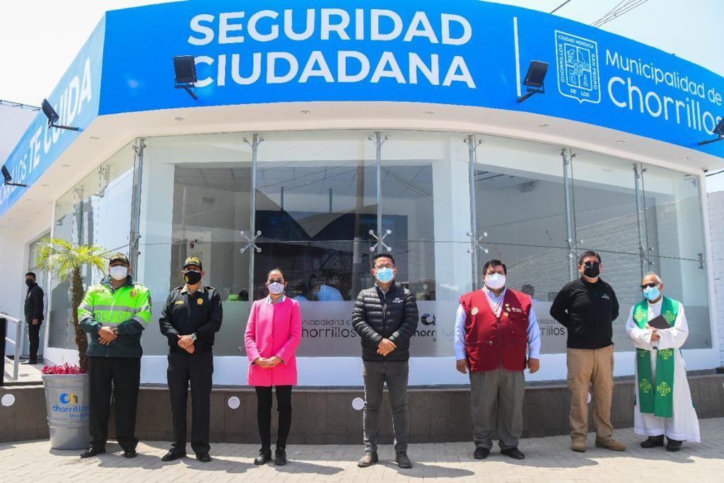 Municipalidad de Chorrillos inaugura moderno centro de cámaras de video vigilancia