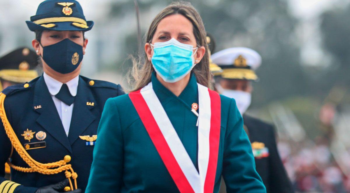 AP exige que Perú Libre se disculpecon María del Carmen Alva