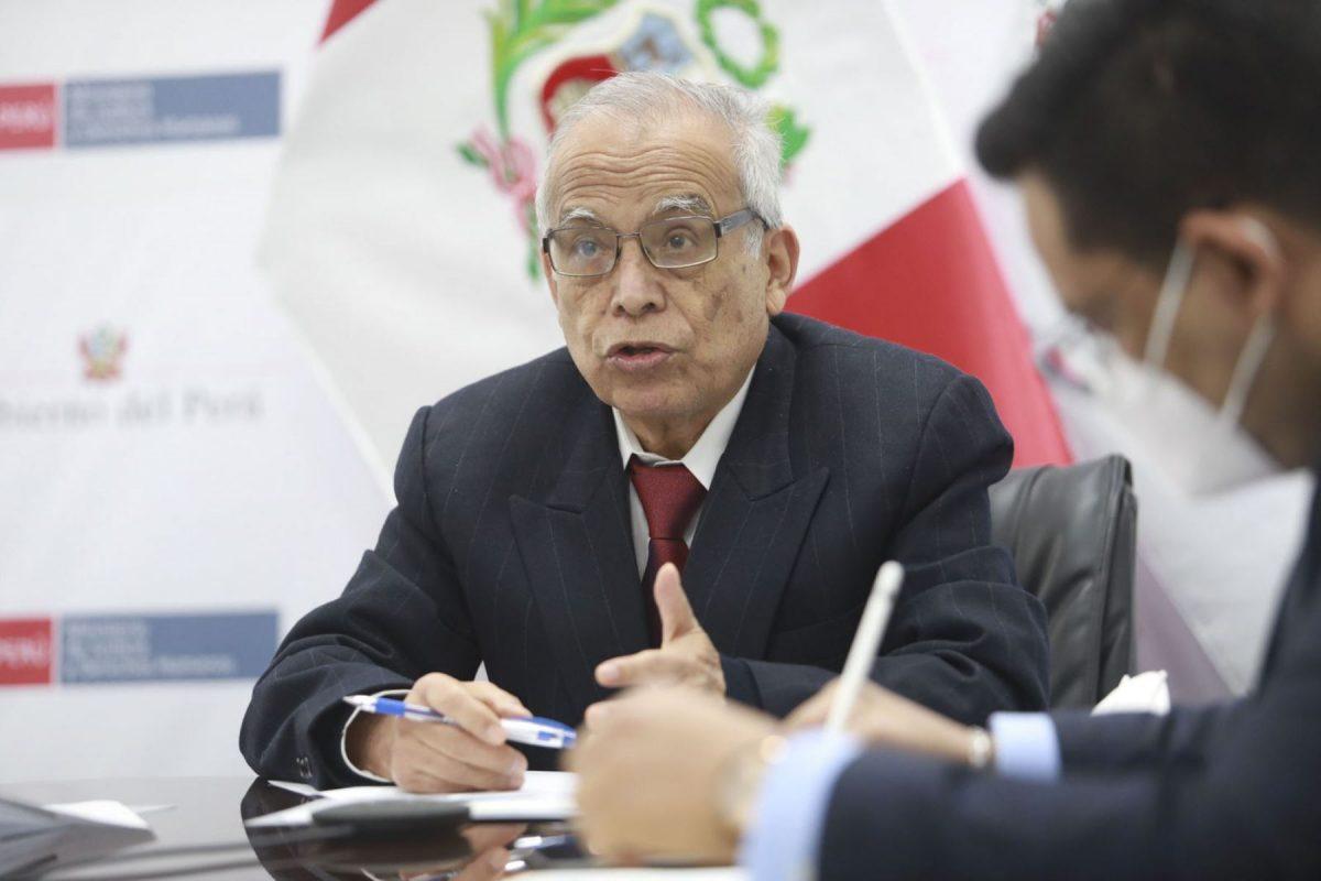 """Aníbal Torres """"Romper el equilibrio de poderes es acabar con la democracia"""""""