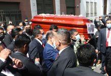 Congreso realizó homenaje póstumo a Fernando Herrera