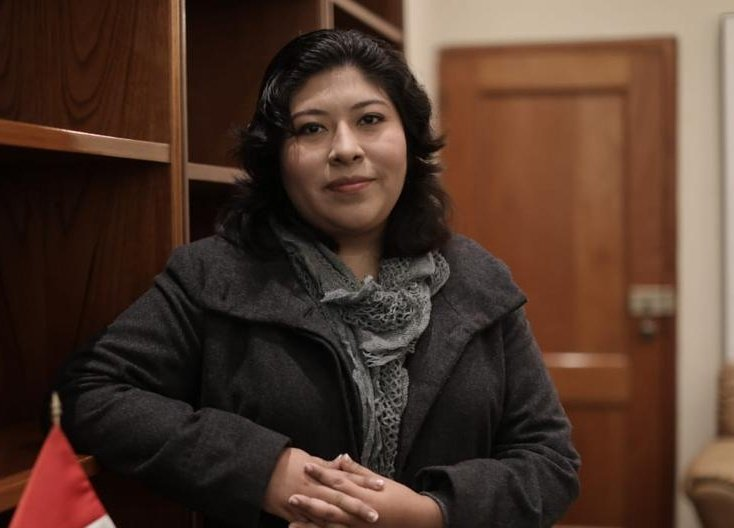 """Betssy Chávez: Esta izquierda es """"bruta y achorada"""""""