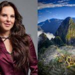 """La actriz mexicana Kate del Castillo dijo que es un """"privilegio"""" filmar sus escenas en la séptima maravilla del mundo."""