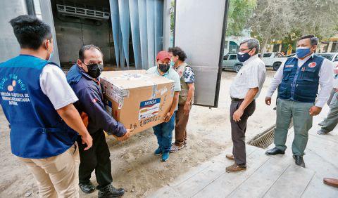 Vacuna Astrazeneca se usará en todo el Perú