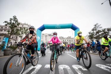 Organizan gran bicicleteada para promover el cuidado de los ríos