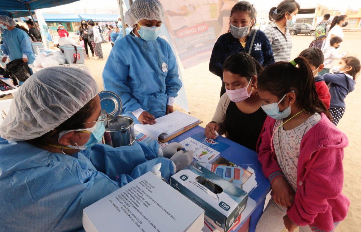 41% de la población de Lima Norte ya completó vacunación