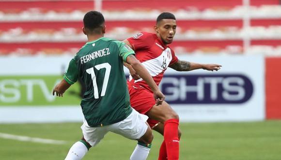 Perú perdió ante Bolivia y tabla de posiciones se actualiza
