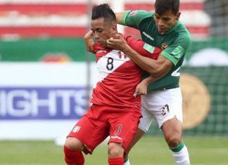 El mediocentro peruano Christian Cueva cometió una acción innecesaria causando el gol de Bolivia a minutos del final.