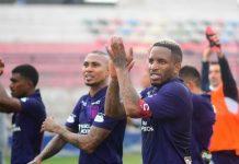 Jefferson Farfán festejó victoria ante Carlos Mannucci, la cual hizo vencedores a los Blanquiazules de la Fase 2 de la Liga 1 Betsson.