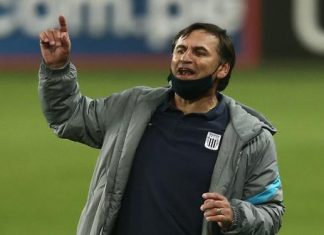 El entrenador de Alianza Lima Carlos Bustos habló de cara a las finales de ida y vuelta frente Sporting Cristal por el torneo nacional.