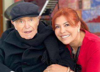 La presentadora de televisión Magaly Medina habló sobre su padre Luis Medina, quien fue integrante de la policía en Huacho.
